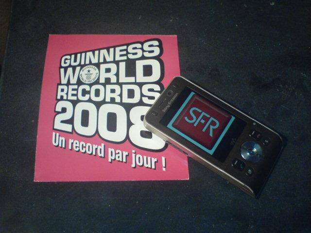 Guiness des records et SFR